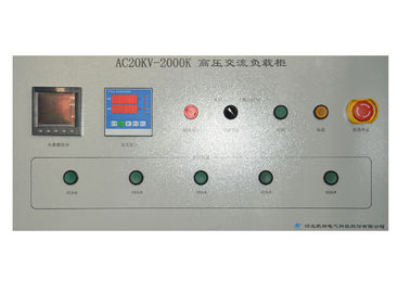 China Remote Control 2000 KW Medium Voltage Load Bank With Three Control Ways supplier