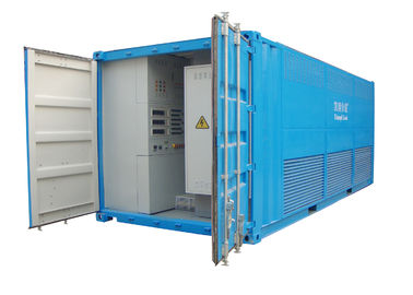 3000 KW Blue / Grey 3 Phase Load Bank Continuous Working With Hanging Ring