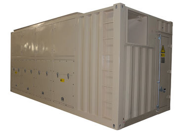 China Large Gray 3 Phase Load Bank 2100 KW Line Voltage 400 V With Hydro Generators distributor
