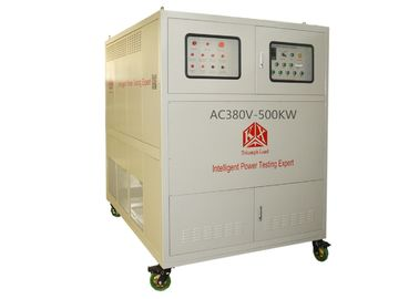 China 220 V Phase Voltage Capacitive Load Bank , Fan Power Generator Dummy Load factory
