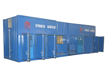 China Ocean Engineering Inductive Load Bank , Blue Variable Resistive Load Bank factory