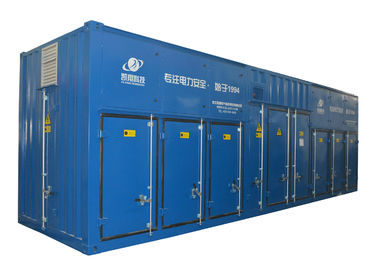 China Resistive Power Capacitive Load Bank 3630 Kvar For Generator Testing distributor