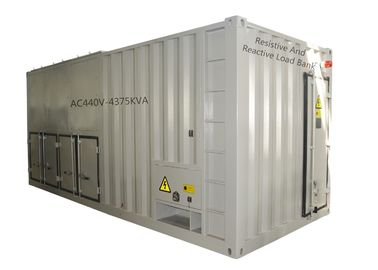 440 V 4375 KVA Reactive Load Bank Ventilation Inspection With Power Factor 0.8