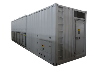 China 3500KW 50HZ 3 Phase Load Bank , Drop / Auxiliary Control Resistive Load Bank factory