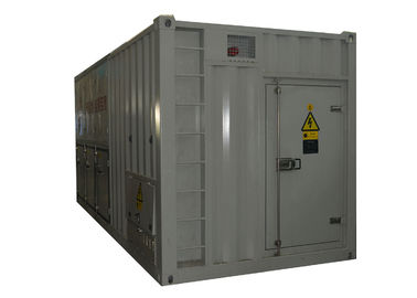 China 1500 KVA Apparent Power Dummy Load Bank Cabinet For Battery System Testing factory
