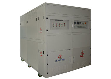 China Cabinet Grey Inductive Load Bank For Generator Testing , Three Phase Load Bank factory