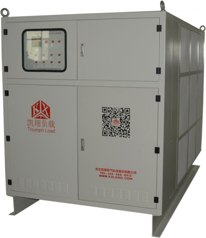 50 HZ Frequency Portable Load Bank 4 Wire For Testing Apparent Power