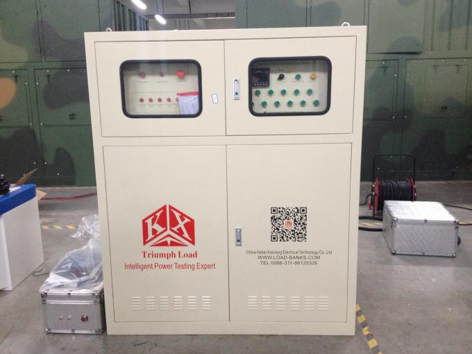 Electrical 500kw 50HZ Resistive Load Bank For Testing Output Power Of Generator