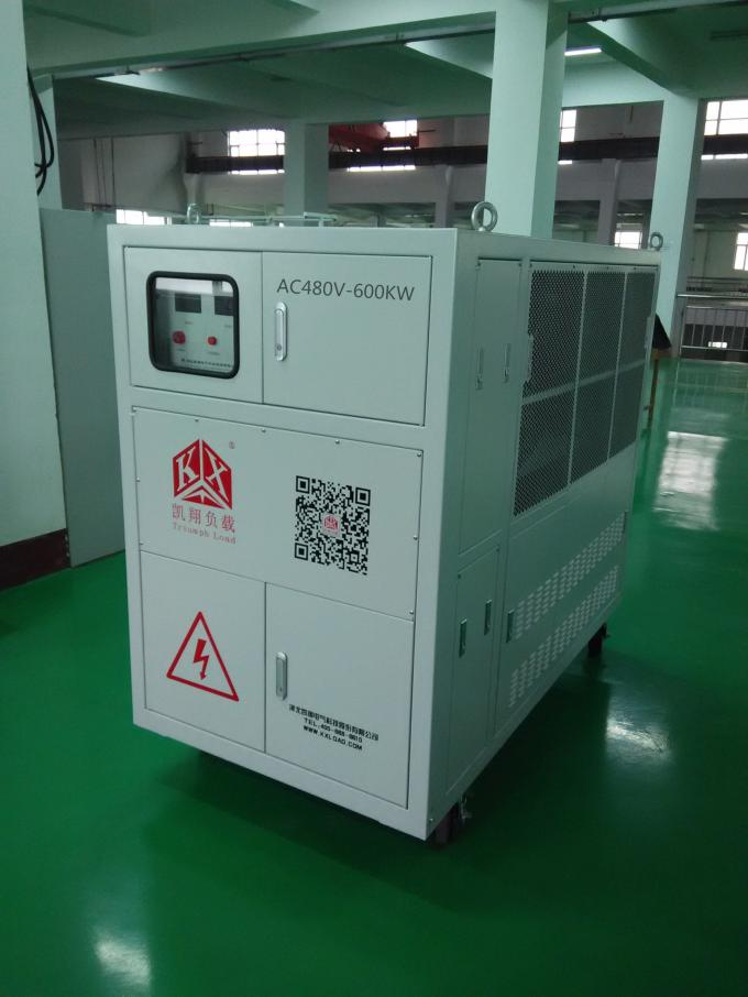Full Manual Operation Resistive Load Bank , Emergency Stop Inductive Load Bank
