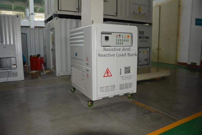 High Efficiency 625KVA IP54 Inductive Load Bank For Genset Testing