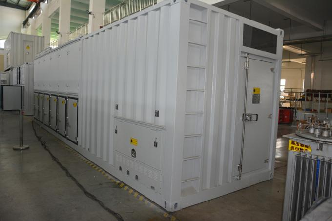 3500KW 50HZ 3 Phase Load Bank , Drop / Auxiliary Control Resistive Load Bank